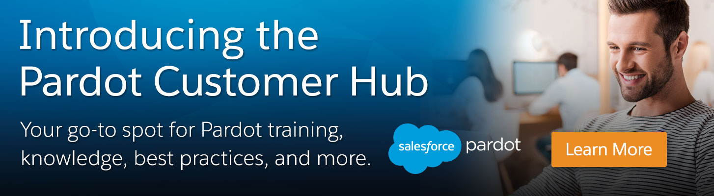 Introducing the Pardot Customer Hub