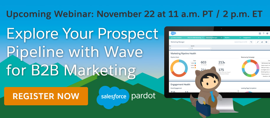 Explore Your Prospect Pipeline with Wave for B2B Marketing