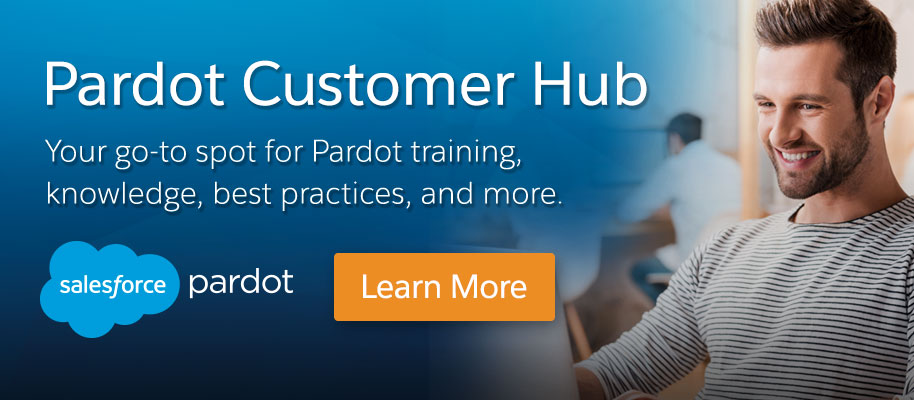 Visit the Pardot Customer Hub