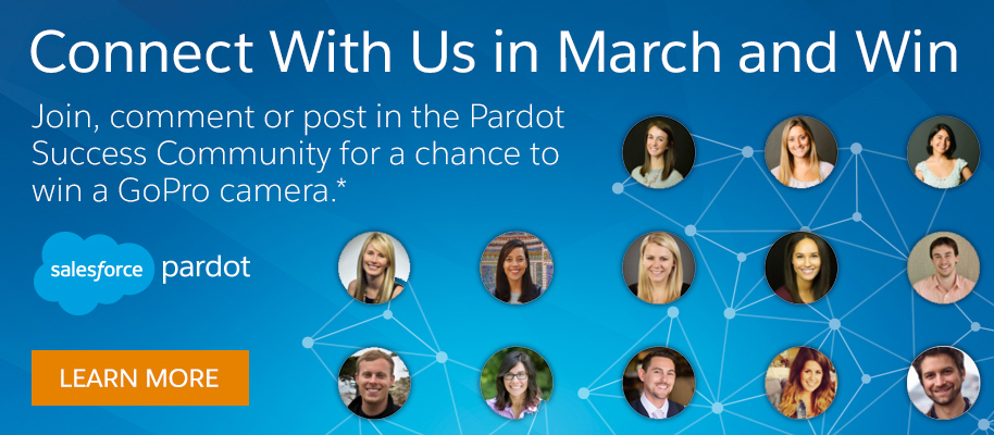 Connect with us in March and win a GoPro