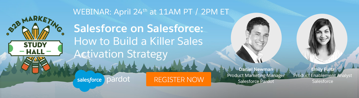 Salesforce on Salesforce: How to Build a Killer Sales Activation Strategy