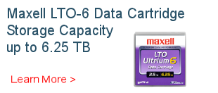 Maxell LTO 6 Ultrium Data Cartridge