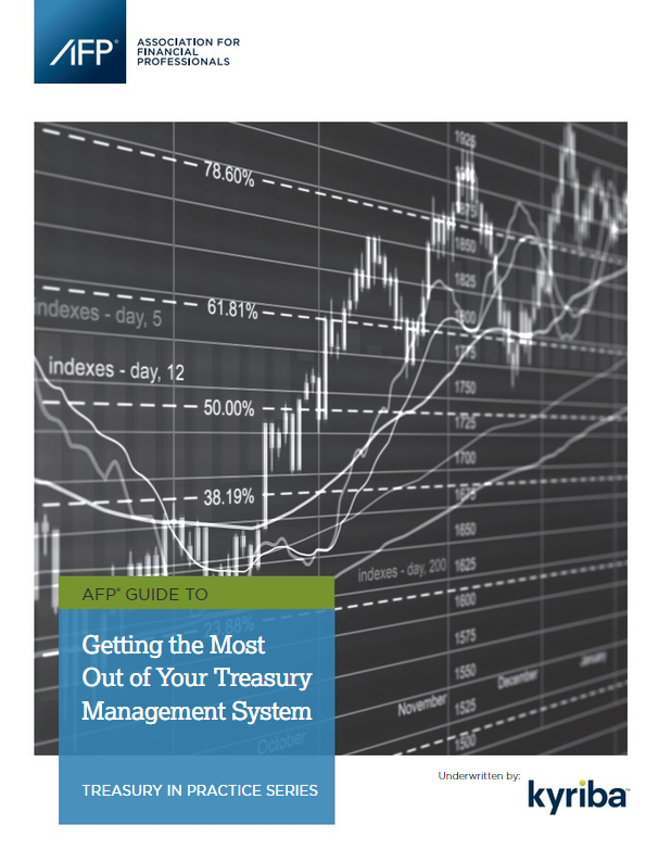 AFP Guide to Getting the Most Out of Your Treasury Management System
