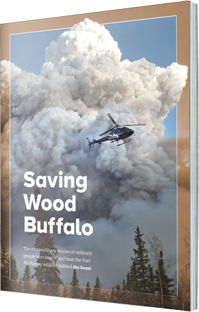 Saving Wood Buffalo Cover