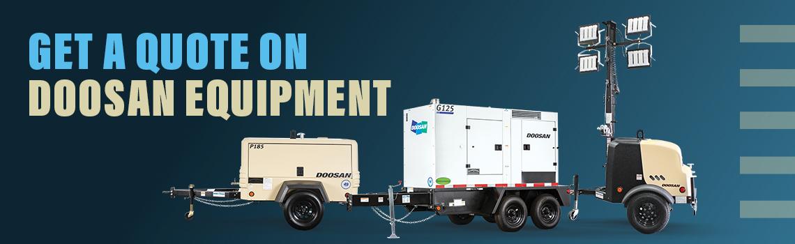 Get a Quote on Doosan Equipment