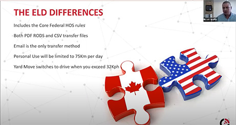 ELD Differences Between the U.S. and Canada