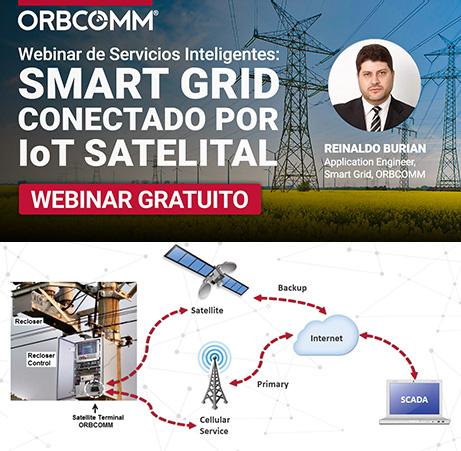 Smart Grid Conectado por IoT Satelital