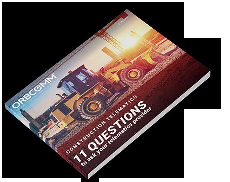 construction telematics provider e-book