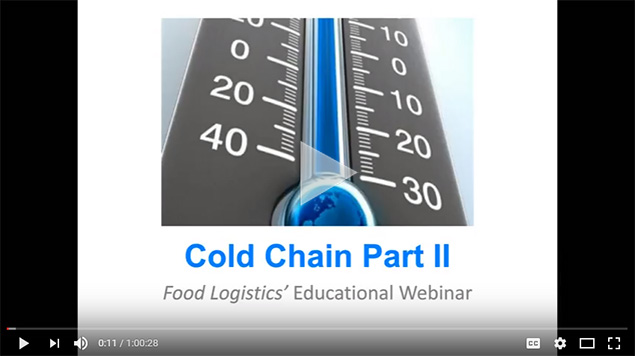 cold chain and food logistics