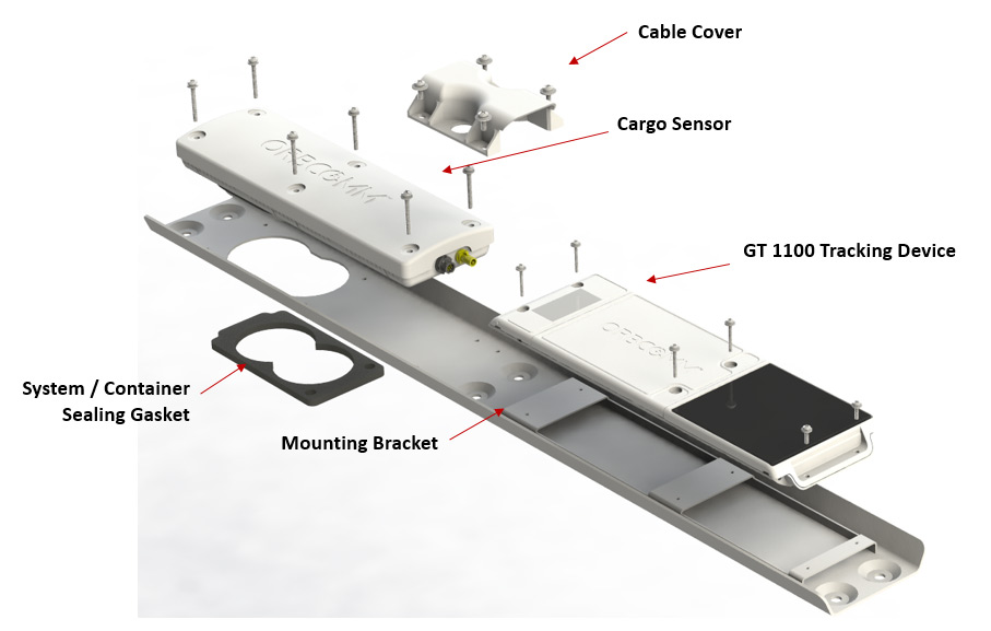 tracking device for trailers with cargo sensor
