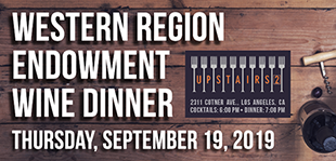Western Region Endowment Wine Dinner