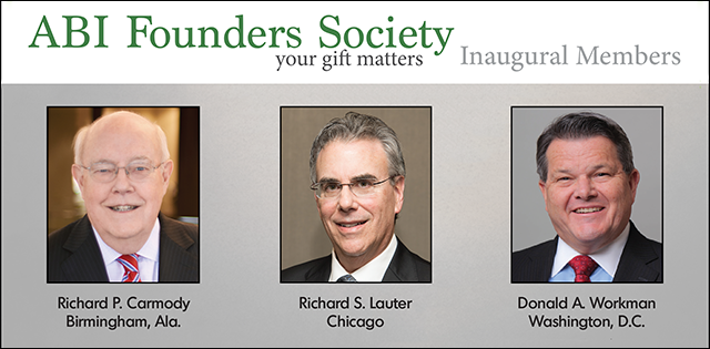 ABI Founders Society Inaugural Members