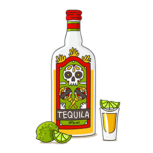 Tequilla graphic