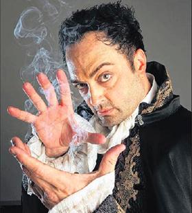 Magician Drew Thomas