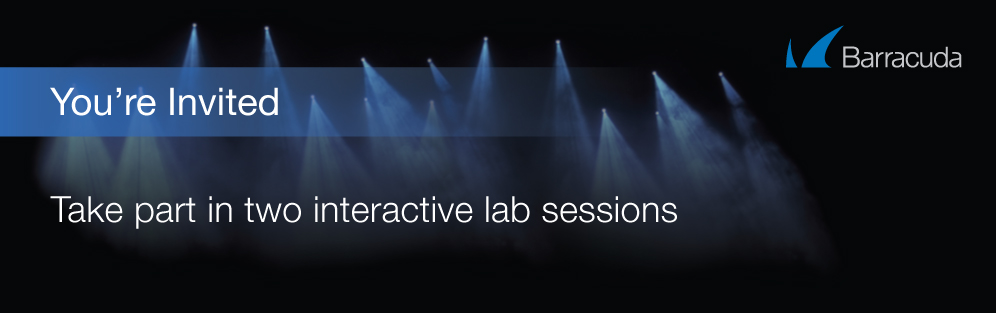 You're invited to take part in two interactive sessions