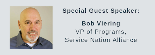 Featured Speaker: Bob Viering, Service Nation Alliance