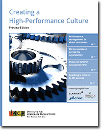 Creating a High-Performance Culture