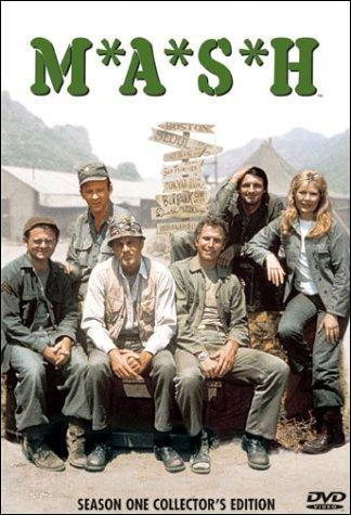 CD or DVD cover for M*A*S*H