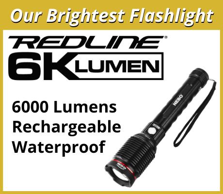 REDLINE 6K - Our brightest flashlight ever!