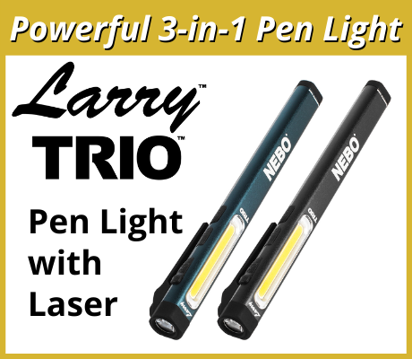 Larry TRIO - Pen Light with Laser