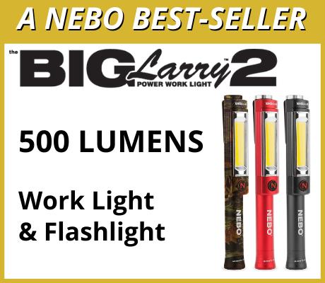 BIG Larry 2 - 500 Lumens Work Light & Flashlight