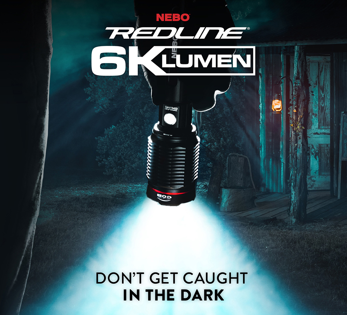 At 6,000 lumens, the REDLINE 6K is our brightest flashlight ever!