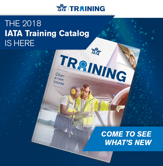 Iata Training Catalog is here
