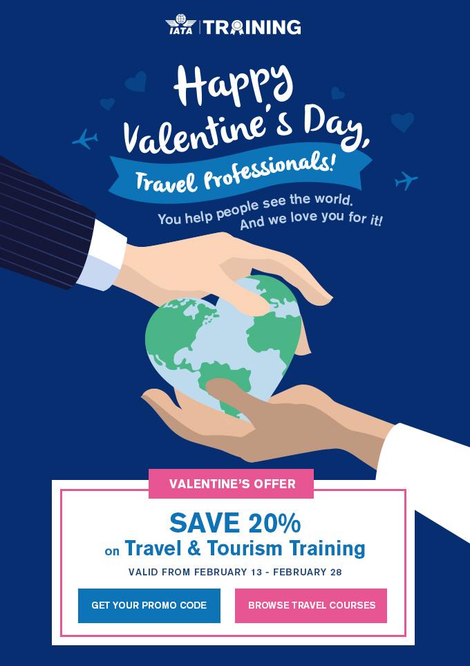 Happy Valentine's Day, Travel Professionals!