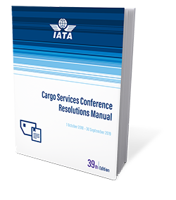 Cargo Services Conference Resolutions Manual