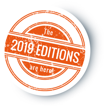 The 2019 Editions are here