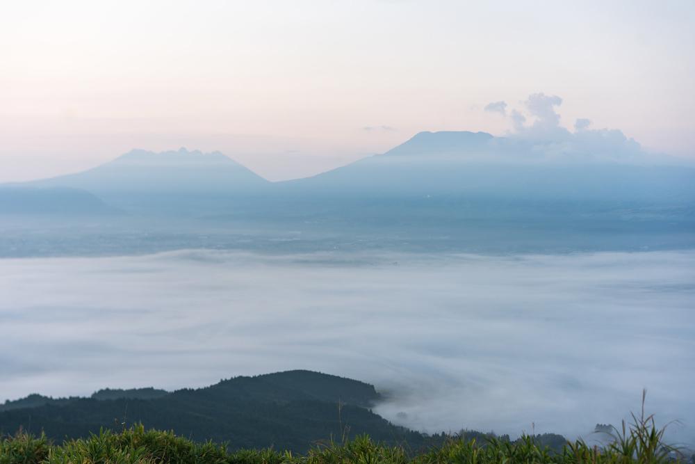 阿蘇の雲海に感動。楽しみは、美しい景色と多くの出会い