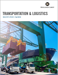 Transportation & Logistics Industry Update – Fall 2018