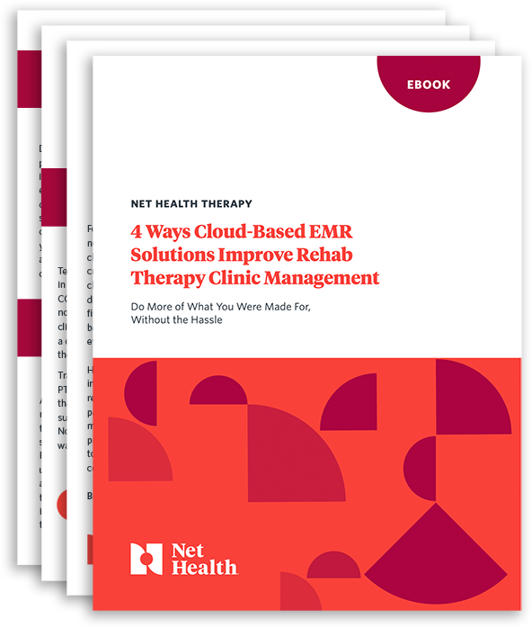 4 Ways Cloud-Based EMR Solutions Improve Rehab Therapy Clinic Management
