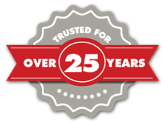 Trusted 25 years