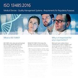 LRQA ISO 13485 Datasheet
