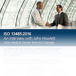 LRQA ISO 13485 FAQ