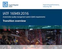 LRQA IATF 16949 Overview