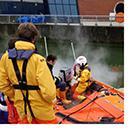 Lifeboat crew members