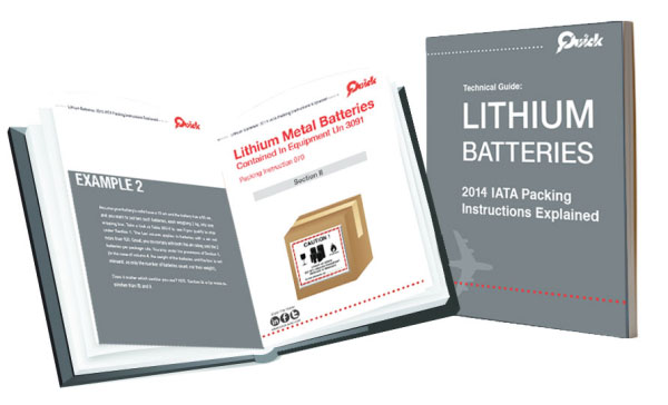 Shipping Lithium Batteries Technical Guide 2013