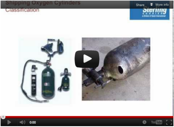 Shipping Oxygen Cylinders Training Video