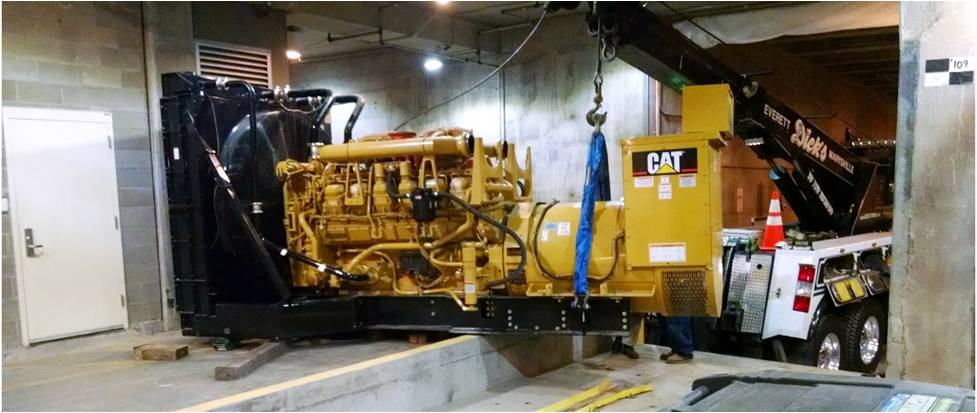 Generator De-Install
