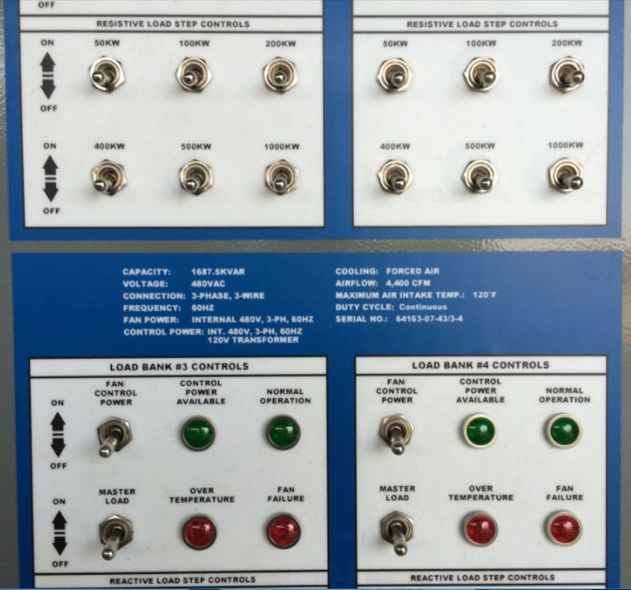 Resistive & Reactive Controls