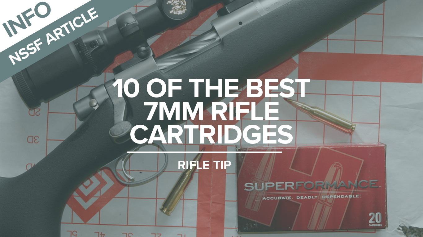 10 of the Best 7mm Rifle Cartridges