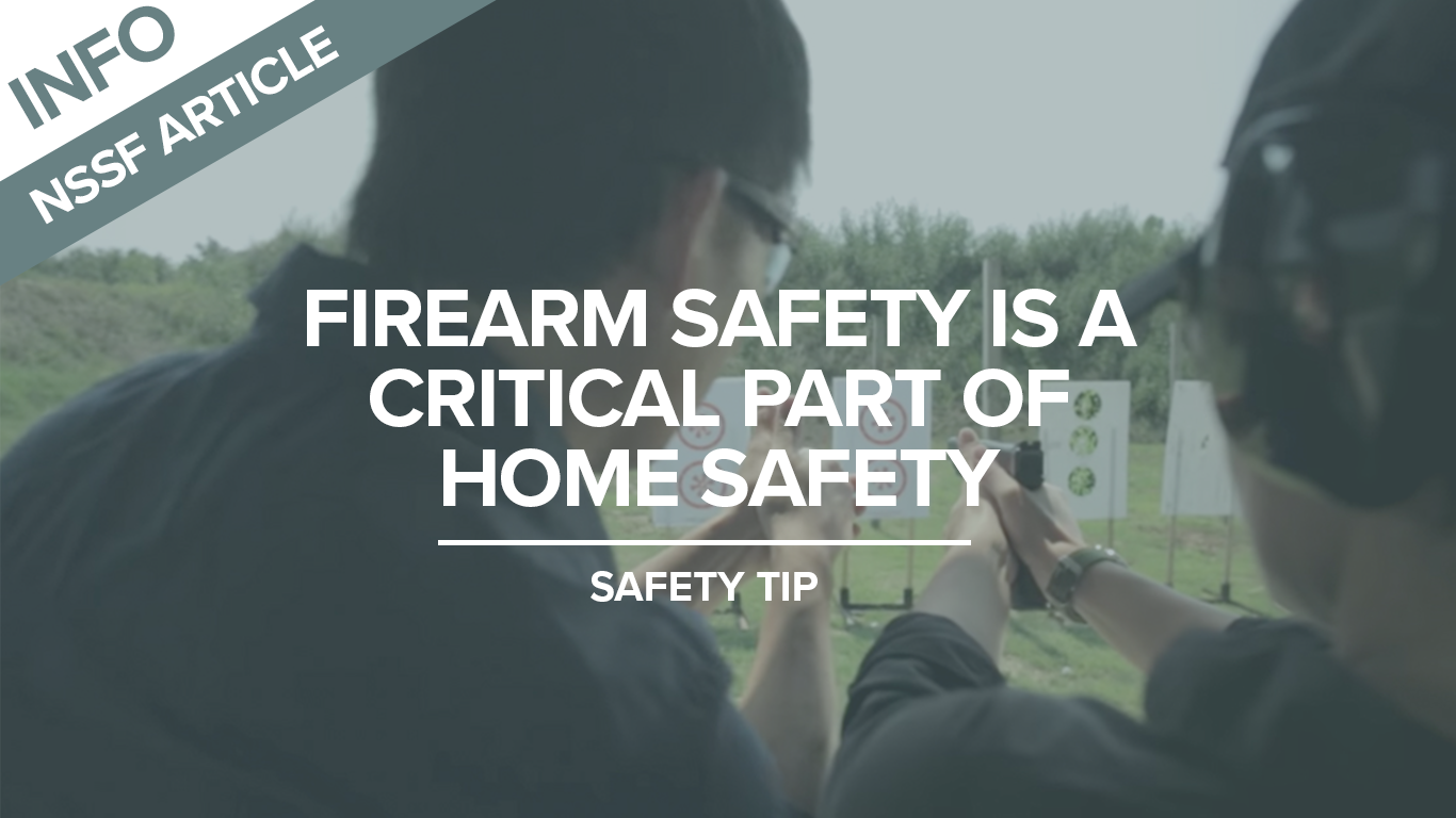 Firearm Safety is a Critical Part of Home Safety