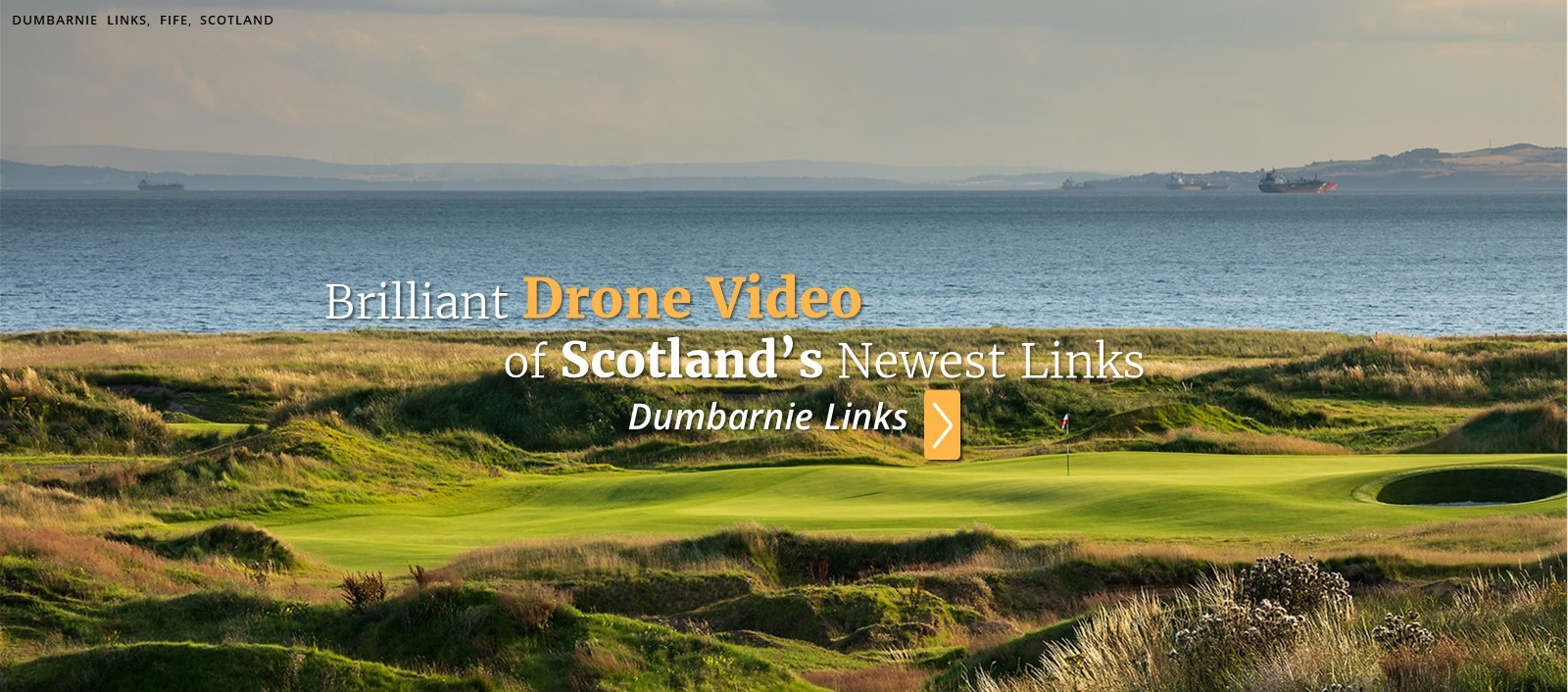 Watch VIDEO: Brilliant Drone Footage of Scotland's Newest Links Course, Dumbarnie Links - PerryGolf.com