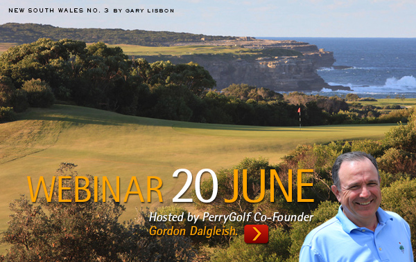 "PerryGolf Webinar ""The Best Golf of Australia Escorted 2018"""