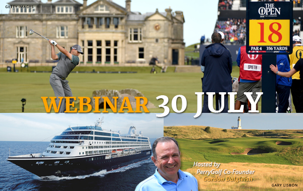 WEBINAR: 2020 / 2021 British Isles Tours & Cruises - PerryGolf.com