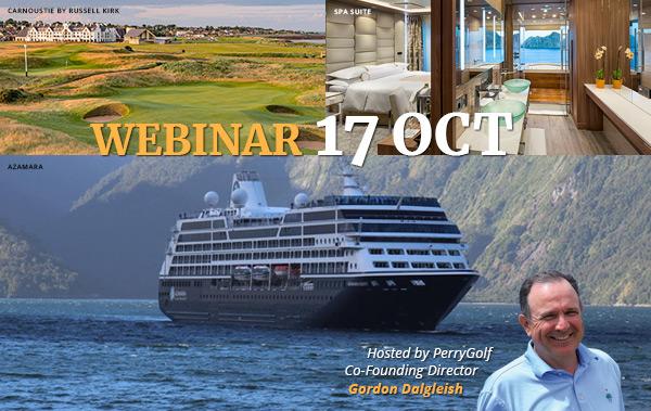 2020/2021 Golf Cruises Webinar August 21   2PM EDT