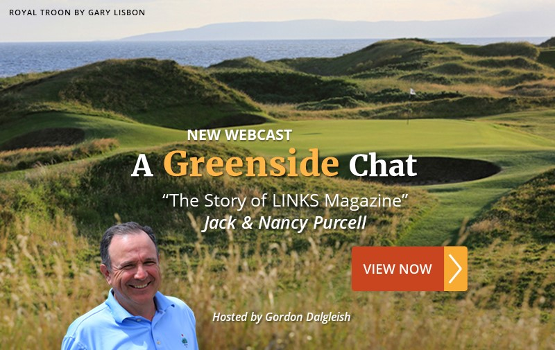 """NEW WEBCAST: """"The Story of LINKS Magazine"""" ~ Jack & Nancy Purcell"""