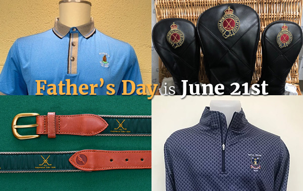 Preferred Pricing for Father's Day from Six of the World's Top 75 Courses - PerryGolf.com